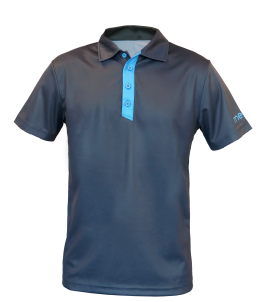 The Signautre Polo – Grey/Blue