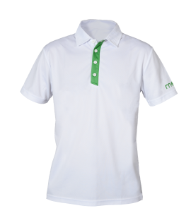 The Signautre Polo – White/Green