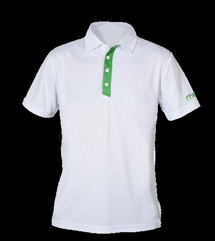 The Signautre Polo – White/Green